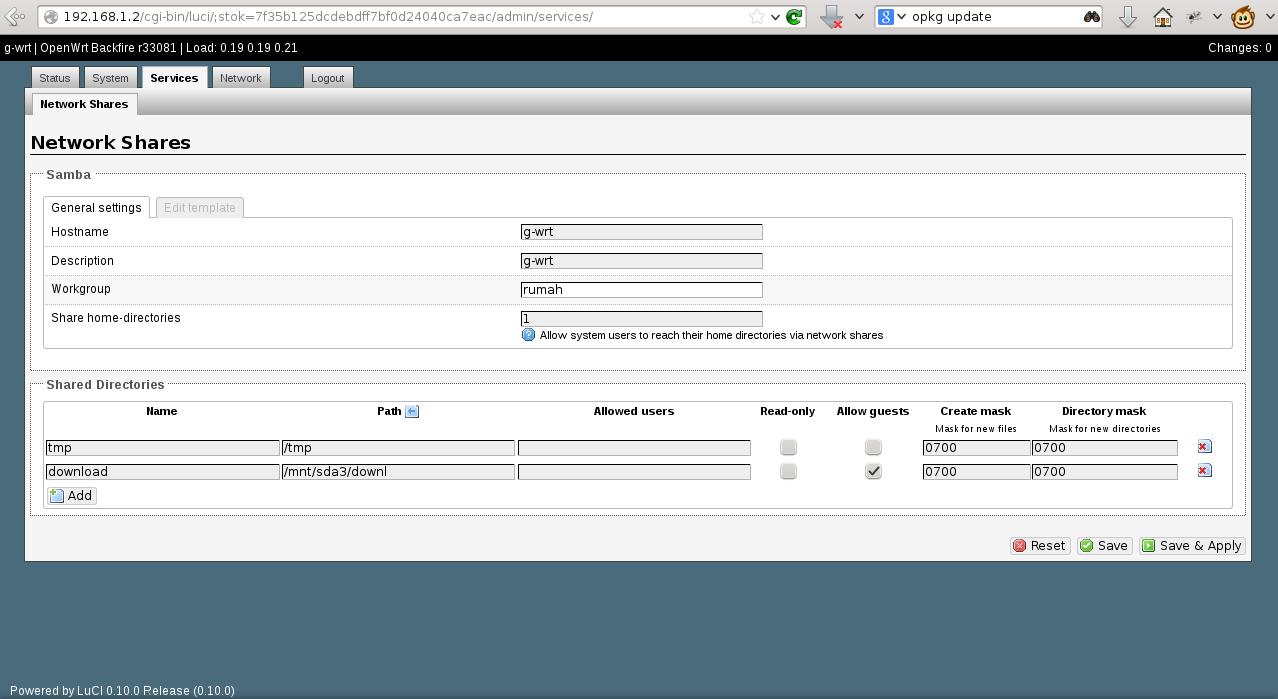 Running Samba 23c Under Windows