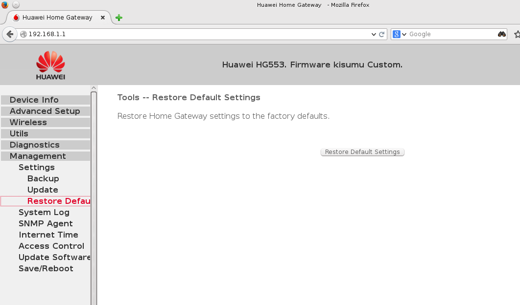 firmware hg553