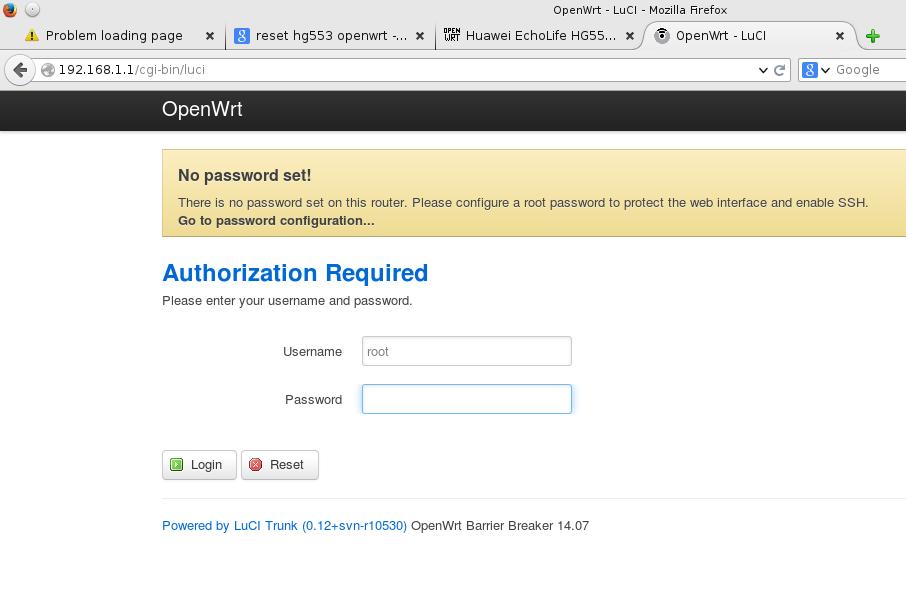 Huawei Openwrt